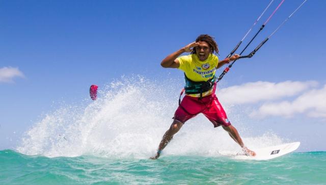 Strapless Kitesurfing auf Fuerteventura