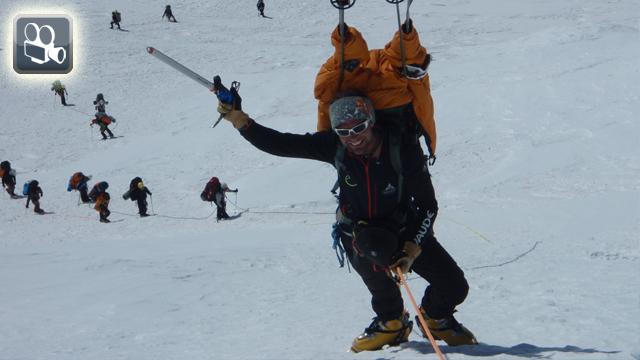 Training mit Extrembergsteiger Stephan Keck