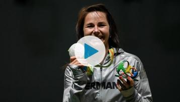 Silbermedaille - Sportschützin Monika Karsch im Interview