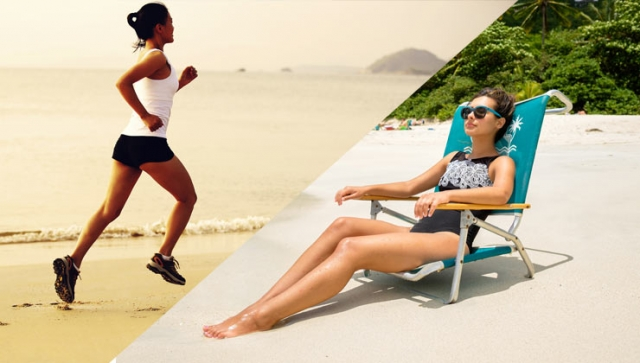 Sport im Urlaub – Ja, aber…