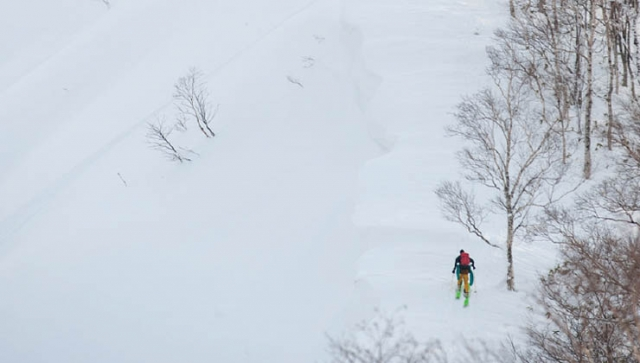 Das Backcountry im Blick – Takahiro Nakanishi