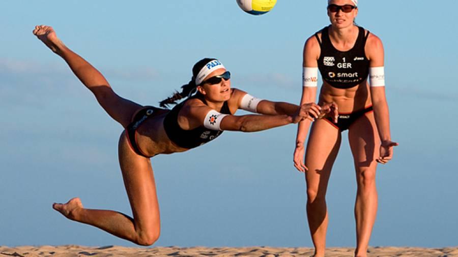 Beach-Workout mit Ilka Semmler