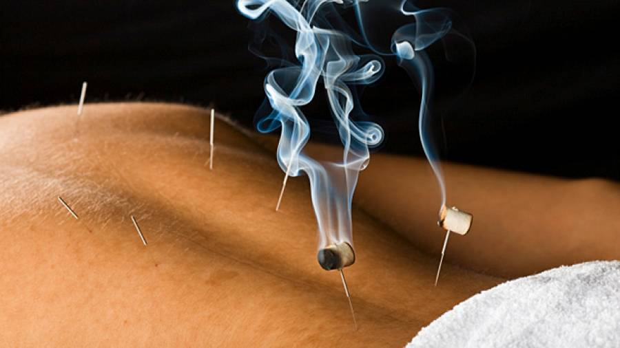 Moxibustion – Entspannung mit Hitze