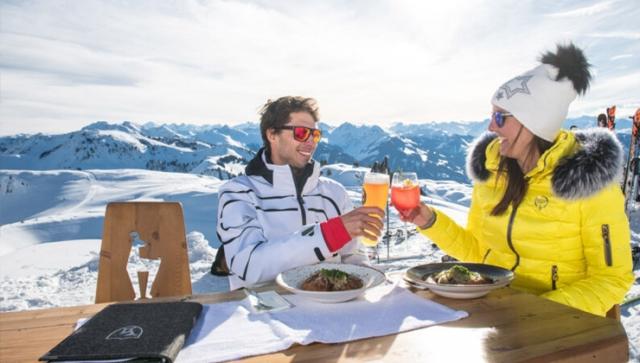 Dinner im Schnee - Genussvolles Skifahren in Kitzbühel