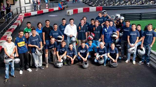 Ralf Schumacher lädt Laureus Kids nach Zandvoort ein