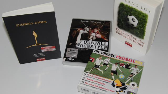 Alles für den Fan – Bücher, DVD und Hörbuch zur WM