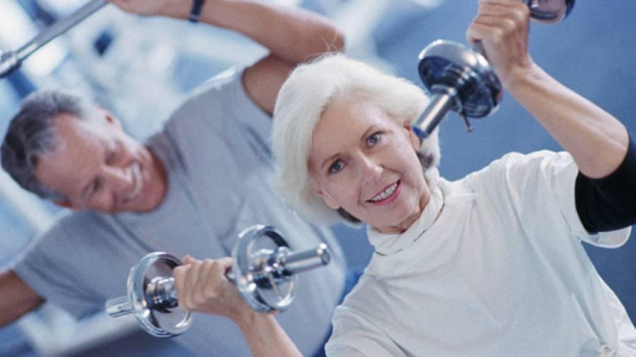 Krafttraining ist für ältere Menschen sinnvoll