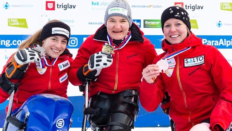 Das A-Team jubelt über 13 Medaillen