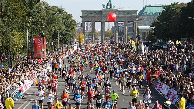 Der Berlin-Marathon im Lauf der Zeit
