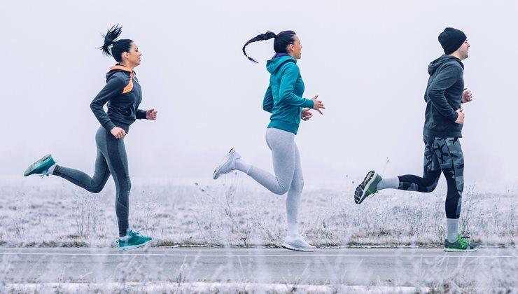 Tipps für gesundes Joggen und Walken in der kalten Jahreszeit