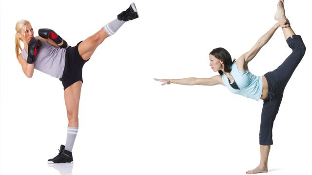 Pilates trifft Boxen - Piloxing