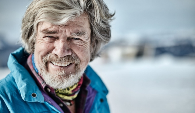 Bergsteiger und Extremsportler Reinhold Messner lehrt Motivation