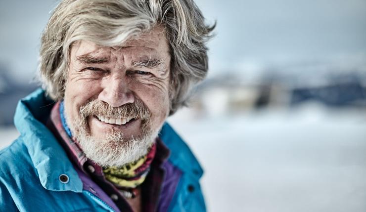 Bergsteiger und Extremsportler Reinhold Messner lehrt Motivation