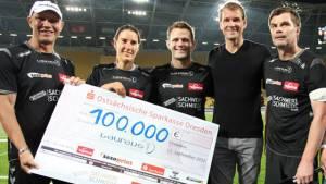 100.000 Euro für die Kicking Girls