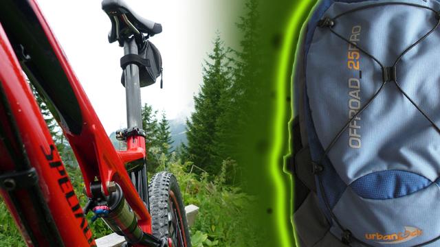 Der Bike-Rucksack Offroad 25 von Urban Rock