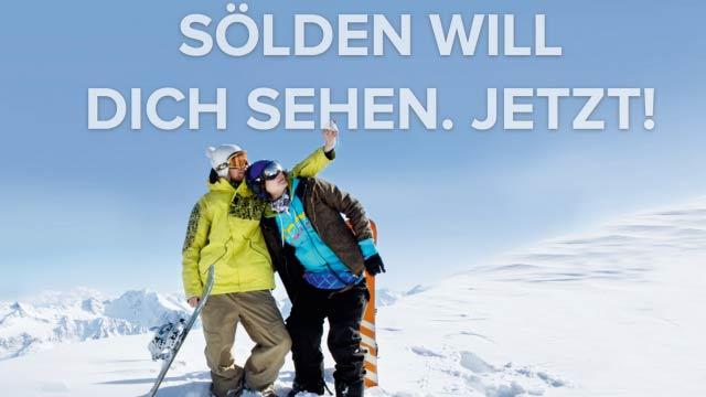 Ein Selfie für Sölden - Auf nach Tirol: Hot Spots sammeln und gewinnen