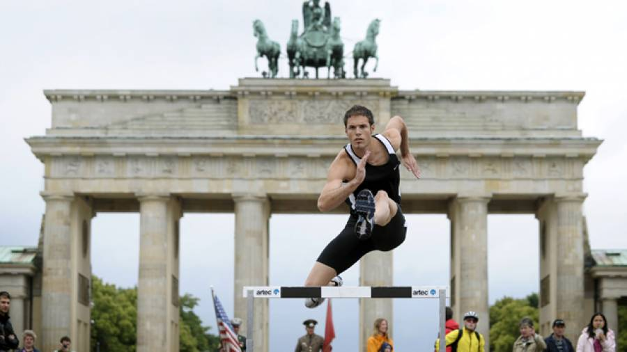 Hürdensprint-Workout mit Matthias Bühler