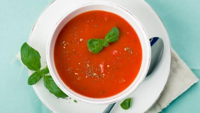 Warm und leicht – Tomatensuppe