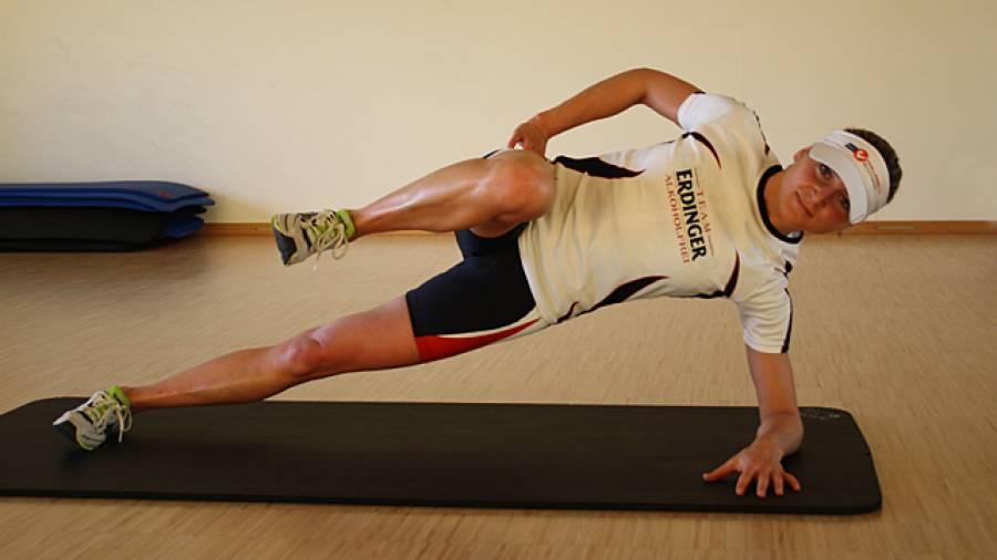 Stabitraining für Triathleten mit Celia Kuch