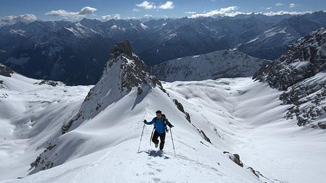 Freeride an der Wolekleskarspitze – Das Projekt Hornbachkette