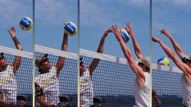 Ab in den Sand - Beachvolleyball-Training mit Lüdike und Böckermann