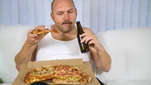 Spät essen macht dick