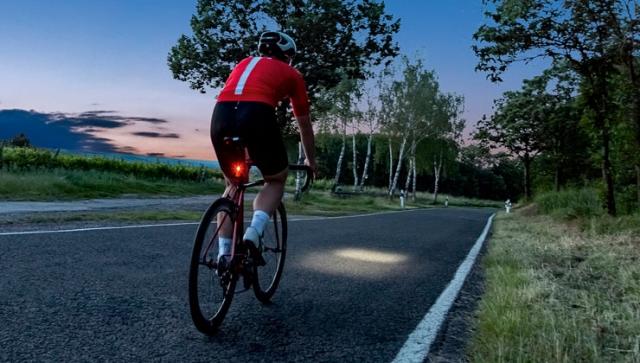 Neuheit von Sigma: Bremslichtfunktion fürs Fahrrad