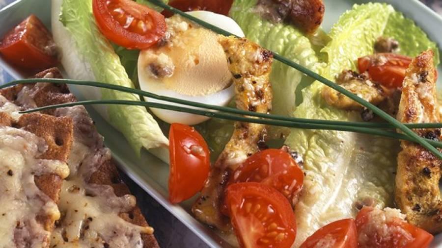 Basis-Ernährung: Caesar's Salad