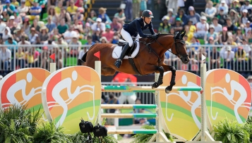 Olympia: Reiter holen Silber