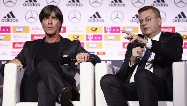 DFB verlängert Zusammenarbeit mit sportlichen Köpfen