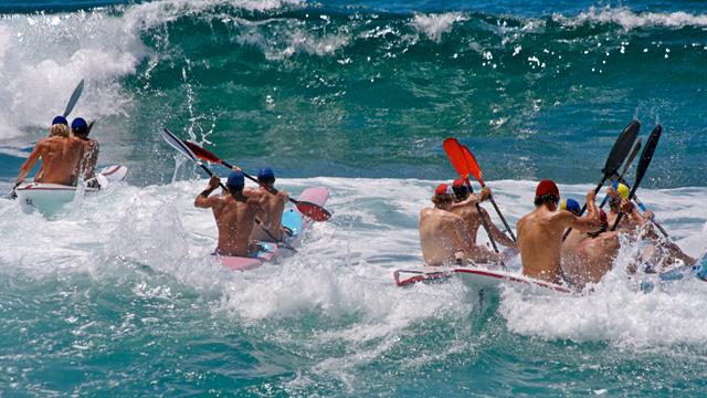 Surf Ironman als Crosstraining