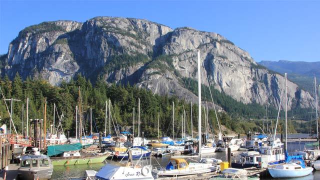 Majestätisch – The Chief in Squamish, Kanada