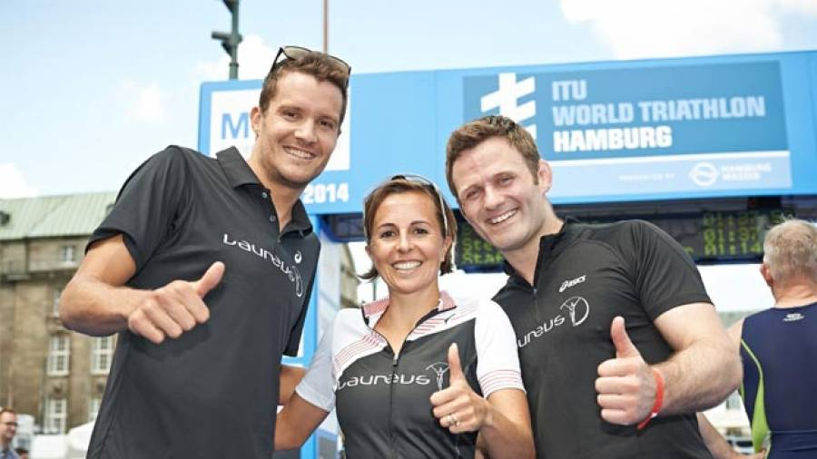 9 platz f r laureus staffel beim hamburg triathlon. Black Bedroom Furniture Sets. Home Design Ideas