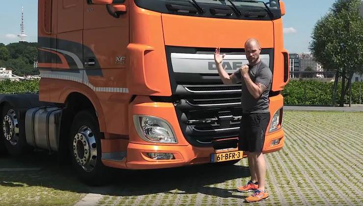 Trucker Workout: Fitness-Initiative für Lkw-Fahrer