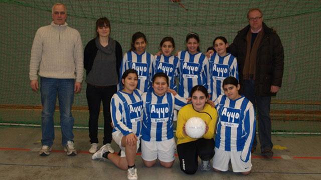 Türkiyemspor und die Kicking Girls erobern Berlin