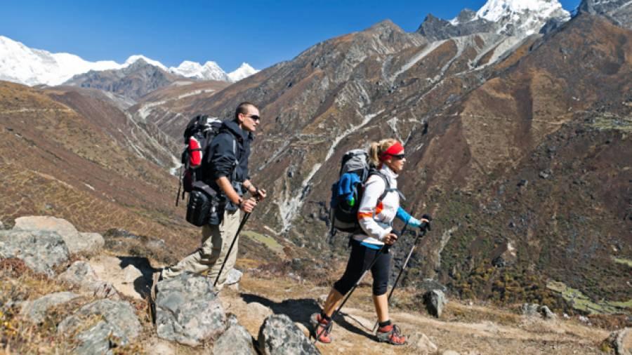 Nordic Walking - Wanderstöcke reduzieren das Verletzungsrisiko