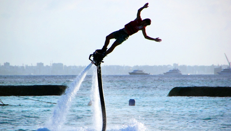 Come Fly With Me - Abheben mit dem Flyboard
