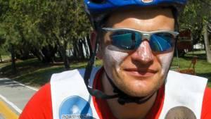Weltrekord im Triathlon durch Marcel Heinig