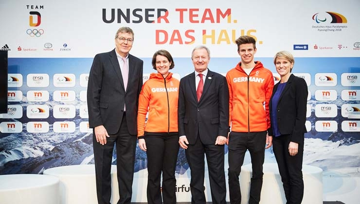 Deutsches Haus als Basisstation für die Sportfamilie