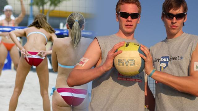 Verständigung hinterrücks – Parlez-vous Beachvolleyball?