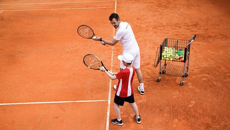 Neues High End Tenniscenter in Griechenland