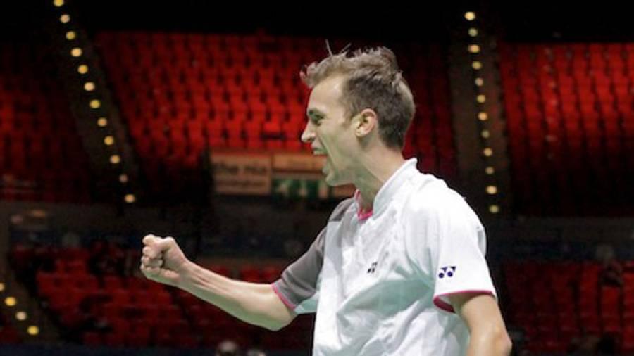 Sensationell: Marc Zwiebler schlägt Weltmeister Chen Jin