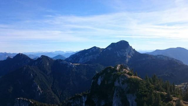 Herbstwanderung: Der Breitenstein