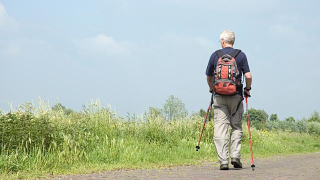 So gesund ist Nordic Walking