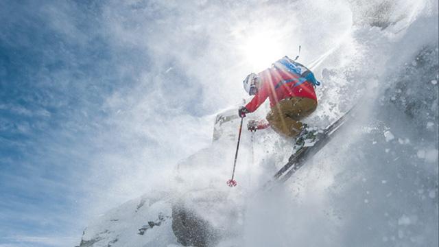 Skifahren in der Schweiz – Die Berge von Wallis