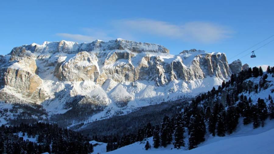 Luxus fürs Auge - Skifahren auf der Sellaronda