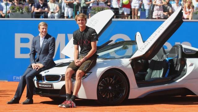 Alexander Zverev verteidigt Titel bei den BMW Open