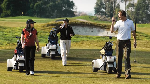 Der Shadow Caddy – Einfach nur golfen