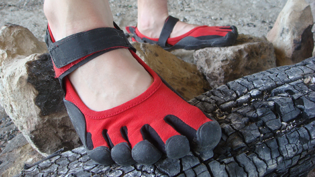 Handschuh für die Füße – FiveFingers Sprint von Vibram