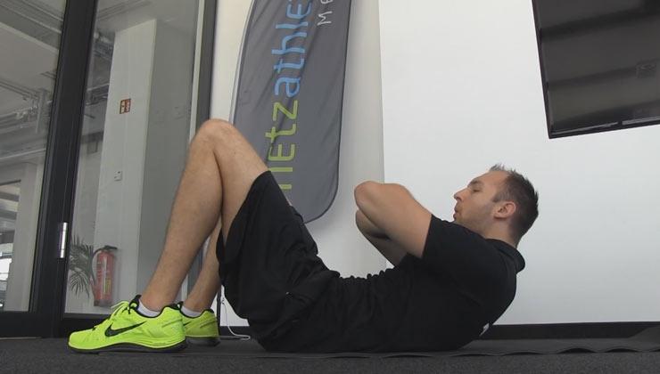Einfach fit - Sit-Ups mit Varianten